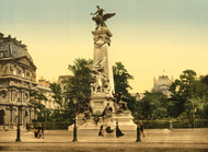 Art Prints of Gambetta's Monument, Paris, France (387454)
