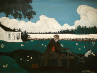 Art Prints of Old Joe Black by Horace Pippin