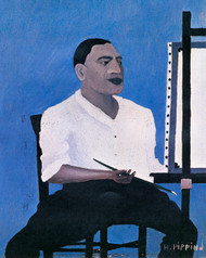 Art Prints of Self Portrait by Horace Pippin