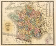 Art Prints of France, 1845 (2486022) by J. Andriveau Goujon
