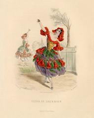 Art Prints of Pomegranate by J. J. Grandville