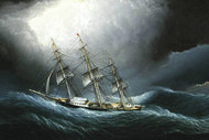 Art Prints of Clipper Ship at Cape Horn by James Edward Buttersworth