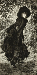 Art Prints of October by James-Jacques-Joseph Tissot