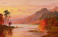 Art Prints of A Lake in the Catskill Mountains by Jasper Francis Cropsey