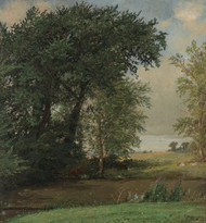 Art Prints of Banks of the River by Jasper Francis Cropsey
