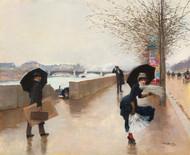 Art Prints of The Wind by Jean Beraud