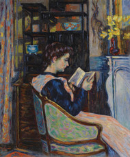 Art Prints of Mrs Guillaumin Reading by Jean-Baptiste-Armand Guillaumin
