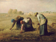 Art Prints of Gleaners by Jean-Francois Millet
