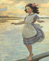 Art Prints of The Little Em'ly, 1912 by Jessie Willcox Smith