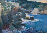 Art Prints of Cala Encantada Majorca by Joaquim Mir