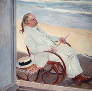 Art Prints of Antonio Garcia at the Beach by Joaquin Sorolla y Bastida