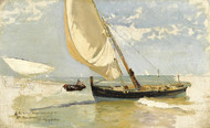 Art Prints of Beach Study by Joaquin Sorolla y Bastida