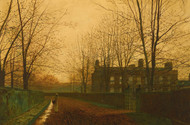 Art Prints of The Last Gleam by John Atkinson Grimshaw