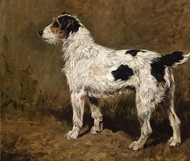 Art Prints of A Wire-Haired Fox Terrier by John Emms