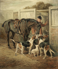 Art Prints of After the Hunt by John Emms