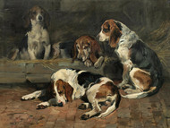 Art Prints of Beagles, Father of the Pack by John Emms