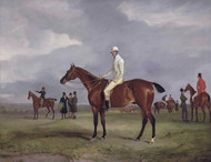 Clinker with Captain Horatio Ross Up by John Ferneley