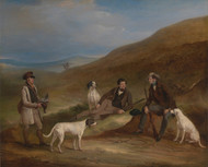 Edward Horner and His Brother George Grouse Shooting by John Ferneley