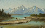 Art Prints of Grand Teton Mountains, Wyoming by John Fery