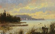 Art Prints of Morning on the Lake by John Fery