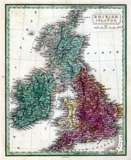 Art Prints of British Isles, 1830 (0315017) by John Grigg