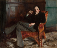 A Capriote, Robert Louis Stevenson by John Singer Sargent