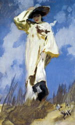 Art Prints of A Gust of Wind by John Singer Sargent