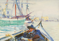 Art Prints of Summer Day on the Giudecca, Venice by John Singer Sargent
