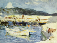 Art Prints of Boats II by John Singer Sargent