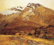 Art Prints of Coming Down from Mont Blanc by John Singer Sargent