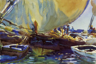 Art Prints of Melon Boats by John Singer Sargent