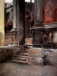 Art Prints of Portico di San Rocco by John Singer Sargent