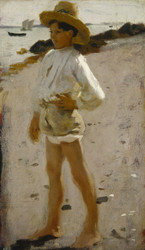 Art Prints of Young Boy on the Beach by John Singer Sargent