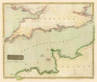 Art Prints of British Channel, 1814 (1007015) by John Thomson