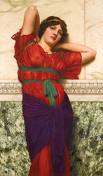 Art Prints of Contemplation by John William Godward