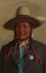 Art Prints of Chief Washakie by Joseph Henry Sharp