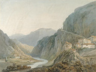 Art Prints of Ascent to the Cascade of Terni by Joseph Mallord William Turner