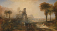 Art Prints of Caligula's Palace and Bridge by Joseph Mallord William Turner