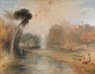 Art Prints of Schloss Rosenau or Rosenau Palace, Coburg, Germany by William Turner