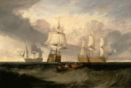 Art Prints of Victory Returning from Trafalgar in Three Positions by William Turner