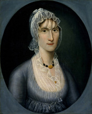 Art Prints of Portrait of Mrs. Barbara Baker Murphy by Joshua Johnson