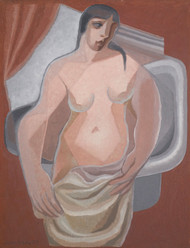 Art Prints of Bather by Juan Gris