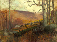 Art Prints of April Morning in the Catskill Mountains by Julian Onderdonk