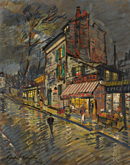Art Prints of Paris by Night II by Konstantin Alexeevich Korovin