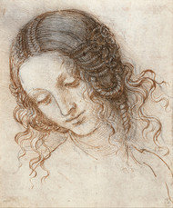 Art Prints of Head of Leda by Leonardo da Vinci
