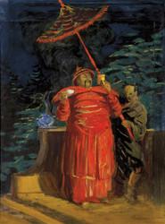 Art Prints of The De La Cie Coloniale, Maquette, 1914 by Leonetto Cappiello
