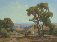 Art Prints of Horses on a Ranch by Marion Kavanaugh Wachtel