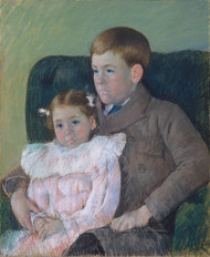Art Prints of Gardner and Ellen Mary Cassatt by Mary Cassatt