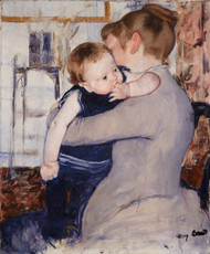 Art Prints of Mother and Child II by Mary Cassatt