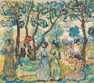 Art Prints of June Day by Maurice Prendergast